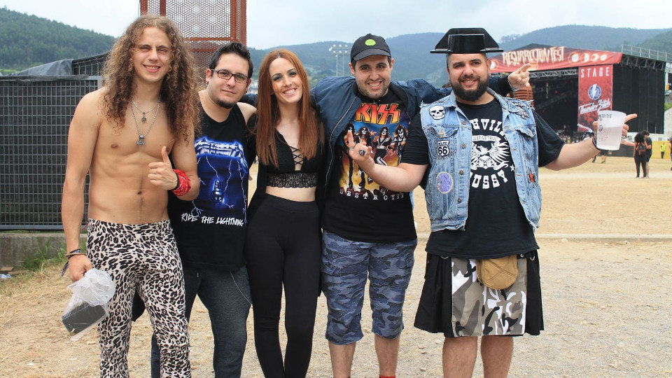 Resurrection Fest 2018. IRIA LV