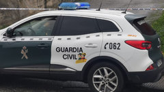 Un coche de la Guardia Civil. ARCHIVO