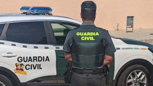 Una patrulla de la Guardia Civil. EFE
