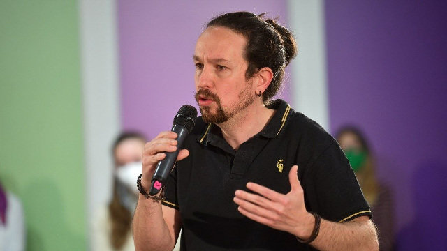 Pablo Iglesias. EUROPA PRESS