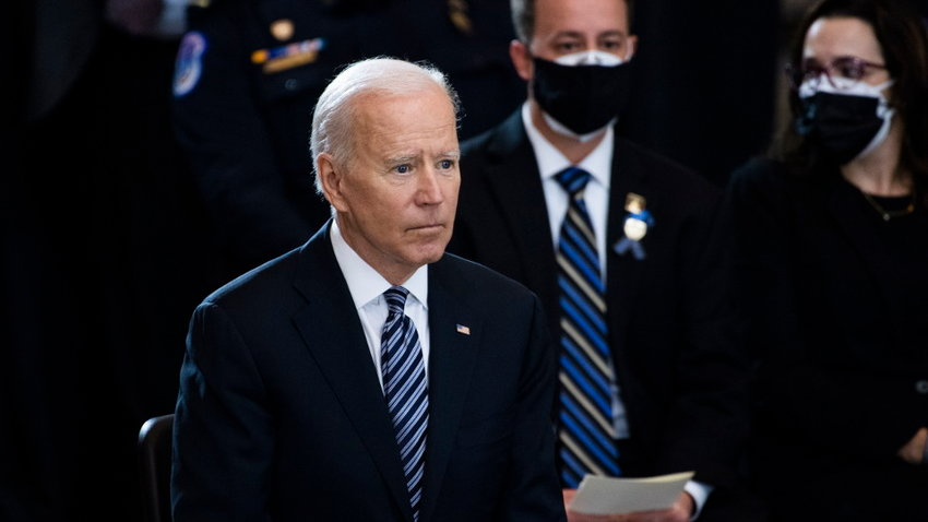 El presidente de Estados Unidos, Joe Biden. TOM WILLIAMS (EFE)