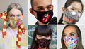 "Mascarillas 'fashion' para dar ""color"" en tiempos oscuros"