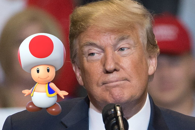 Stormy Daniels compara o pene de Trump co cogomelo do Mario Kart
