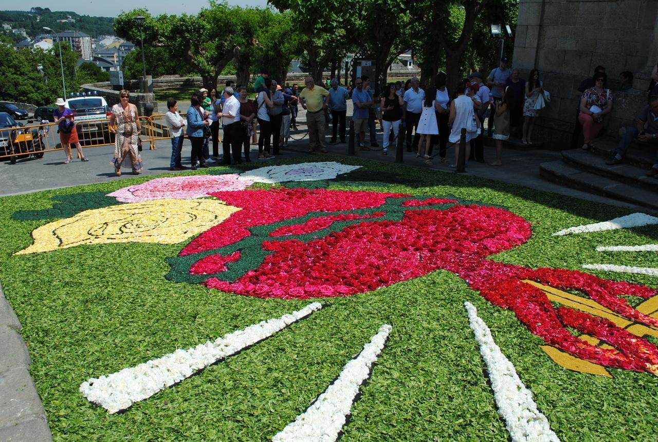 El Concello De Sarria Garantiza La Continuidad De Las Alfombras Florales