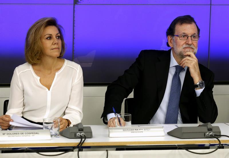 Rajoy Pide Serenidad Al Pp Y No Actuar Con Histeria Ante Casos De