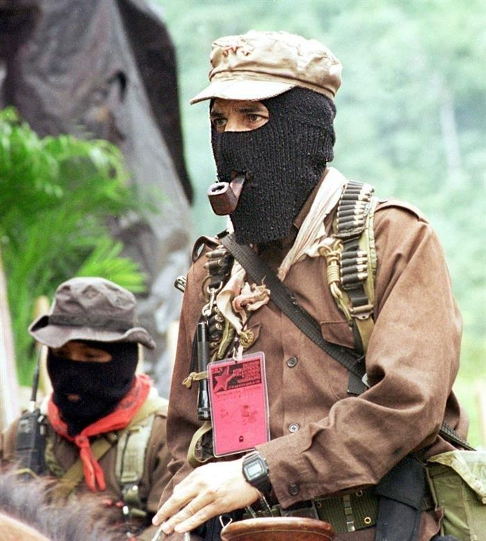 El subcomandante Marcos queda libre de cargos tras 21 años