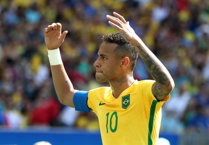 f7d318e503bfb 6-0. Neymar guía a Brasil contra Honduras y luchará por el oro