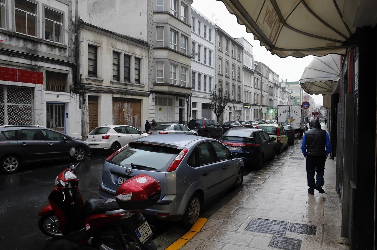 un aparcamiento casi imposible