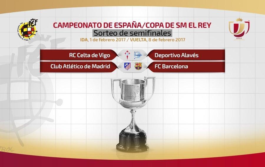 Benévolo Sorteo De Semifinales De La Copa Del Rey Para El Celta