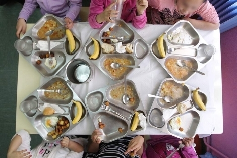 El menú de los comedores en los colegios públicos de Lugo costará 3 ...