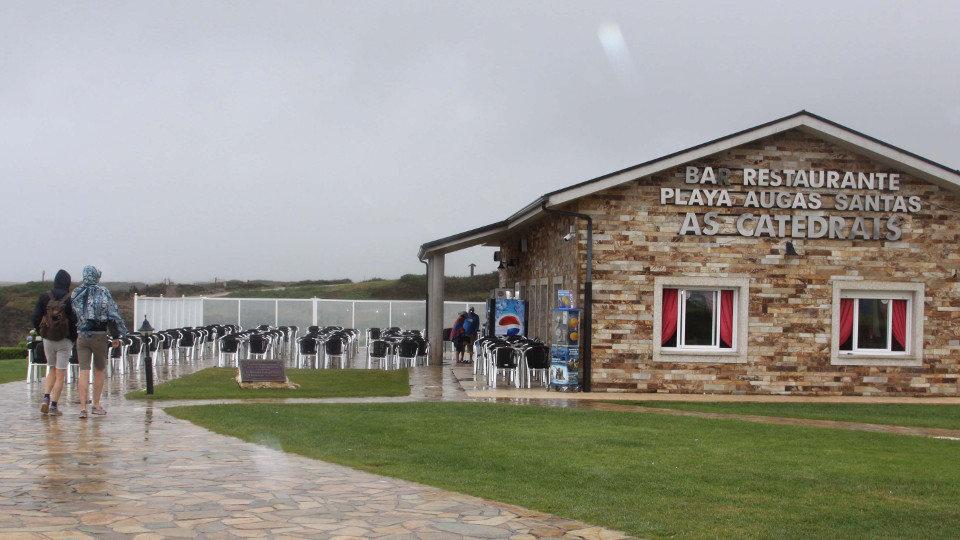 Bar y restaurante de As Catedrais. JM PALEO