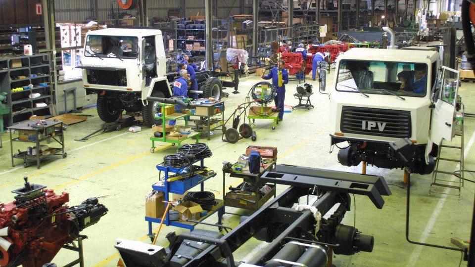 Instalaciones de la factoría especializada en carrocetas. AMA
