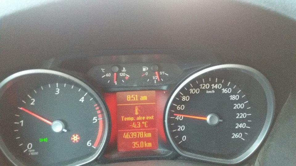 Temperatura bajo cero. B.V.