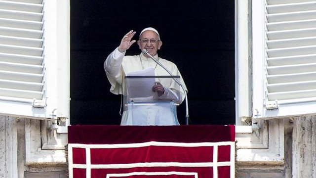El papa Francisco. ANGELO CARCONI