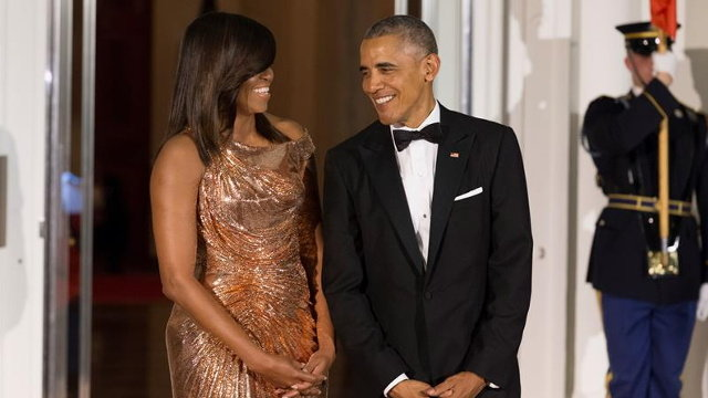 Barack y Michelle Obama. MICHAEL REYNOLDS