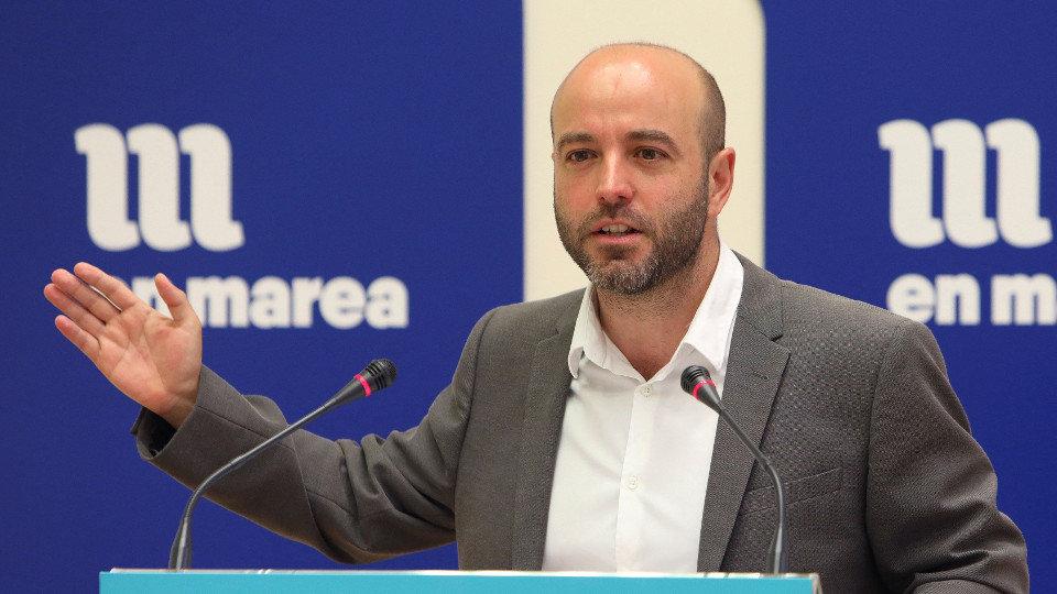 El portavoz de En Marea, Luís Villares. XOÁN REY (EFE)