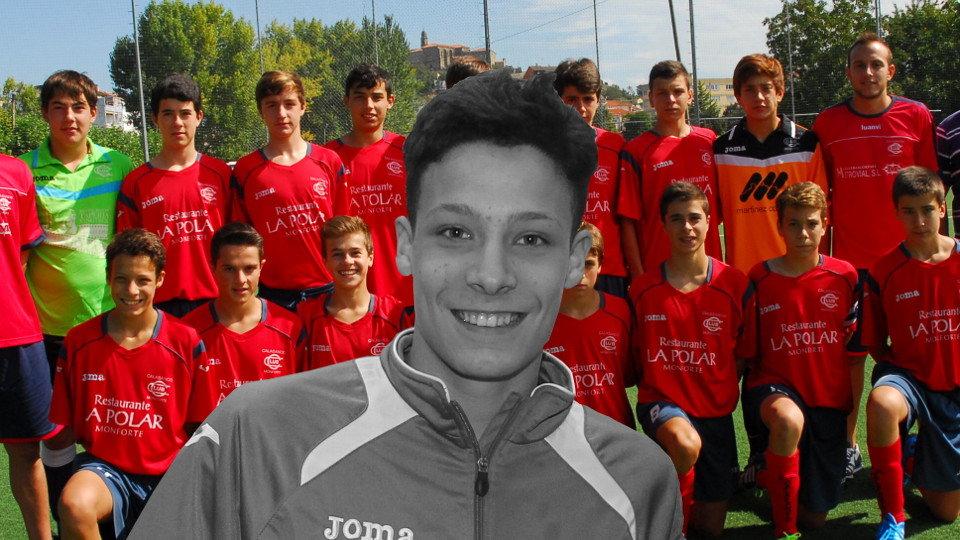 El joven Álex Blanco pasó toda su etapa deportiva en el Calasancio. EP a5d909ecd64b6