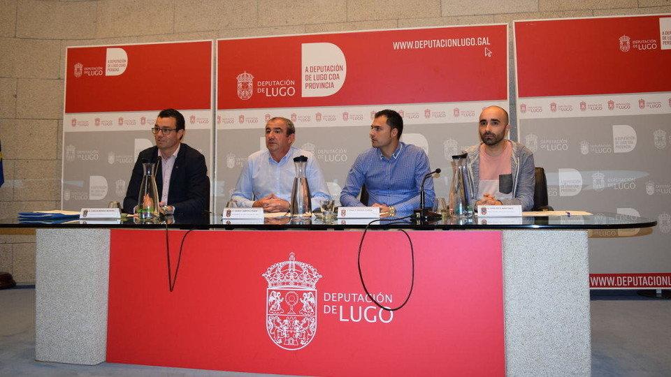 La Copa Diputación fue presentada el jueves. EP