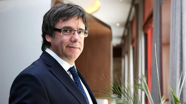 Carles Puigdemont. HAYOUNG JEON (EFE)