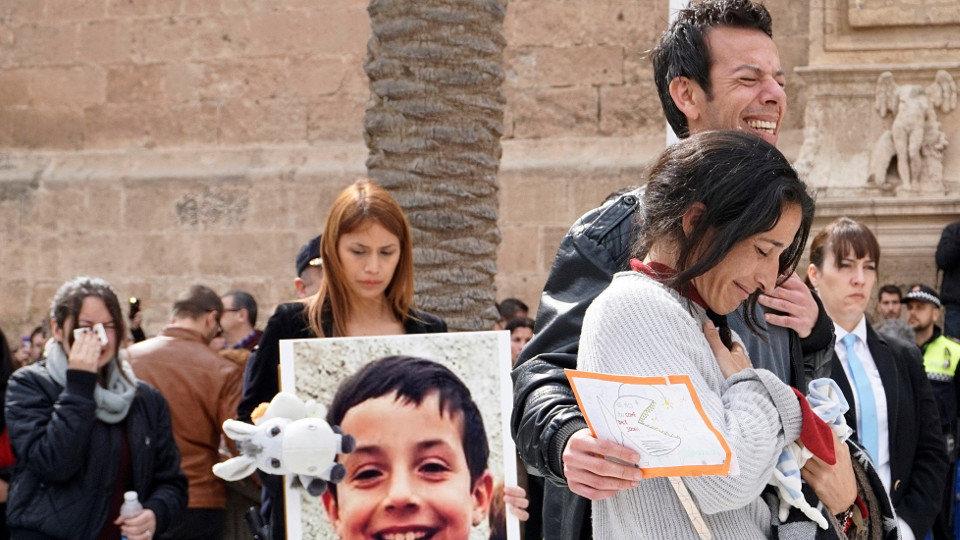 Image result for Esparcen en el mar cenizas del niño español Gabriel Cruz, asesinado por la dominicana