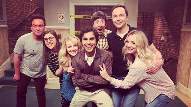 Os protagonistas de The Big Bang Theory. CBS (TWITTER)