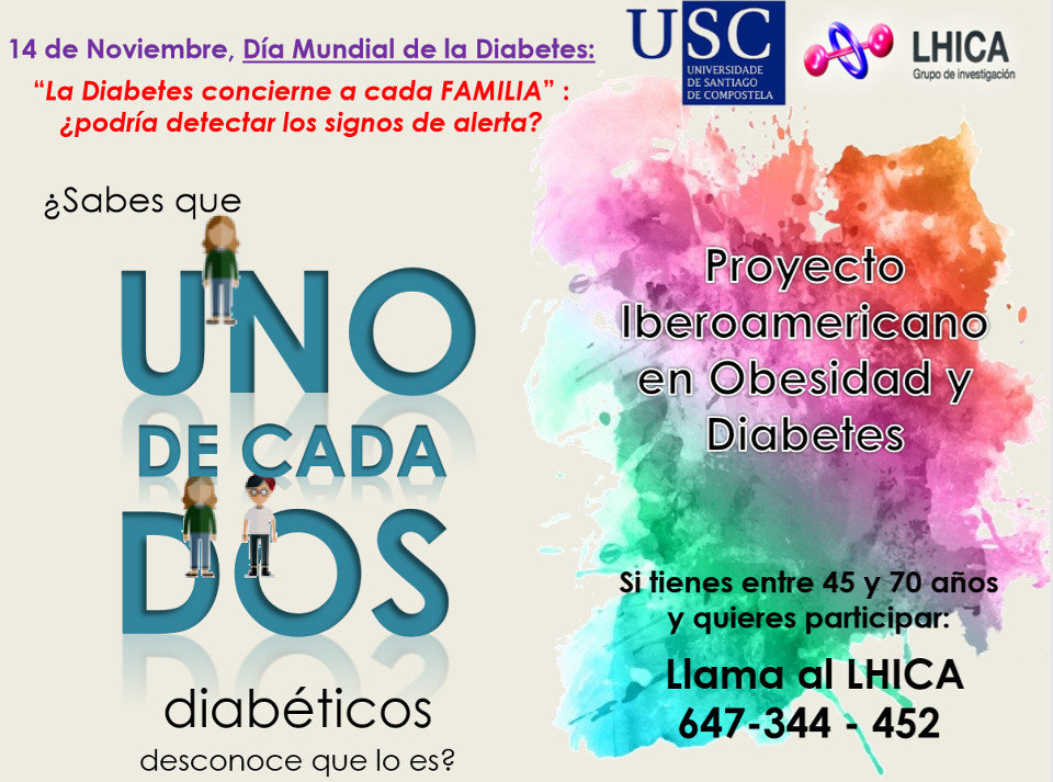 Folleto de una investigación sobre diabetes. EP