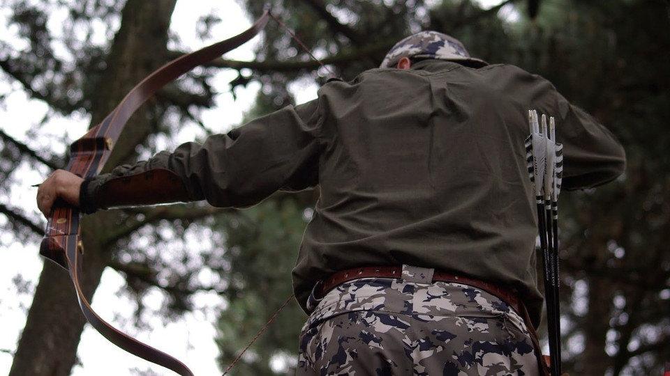 Cuatro cazadores echarán mano de arcos y flechas para intentar abatir  jabalíes de noche