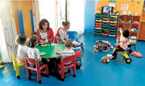 Instalacións da escola infantil municipal de Barreiros. EP