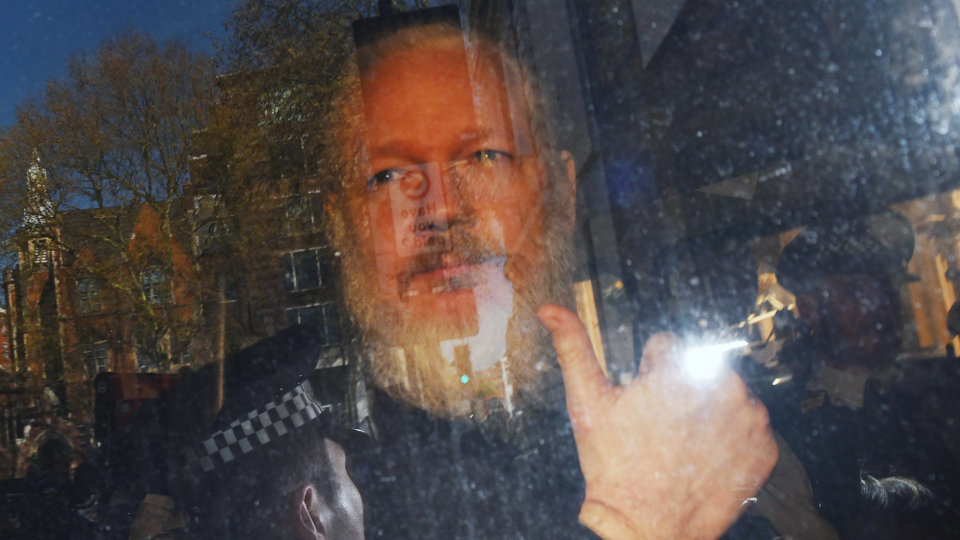 Julian Assange. STIRNGE (Efe)