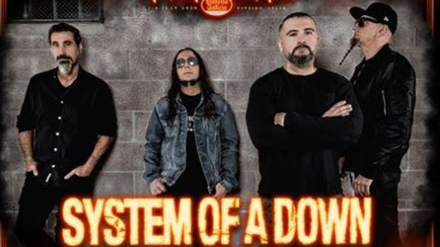 System of a Down actuará en el Resu. EP