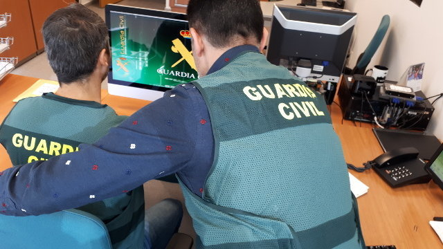 Agentes de la Guardia Civil. AEP