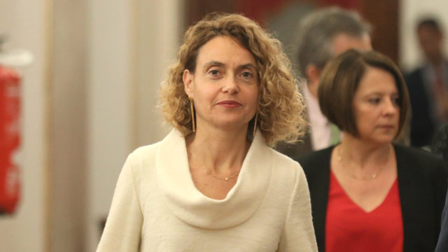 La presidenta del Congreso, Meritxell Batet. EUROPA PRESS