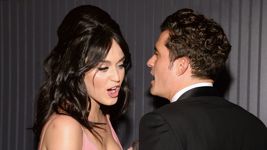 Katy Perry y Orlando Bloom. ARCHIVO
