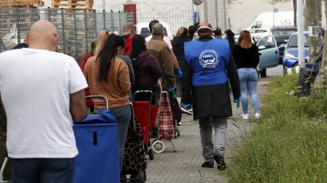 Galiza: Centenares de miles de personas empobrecidas. Precarización. 2020042612125583281