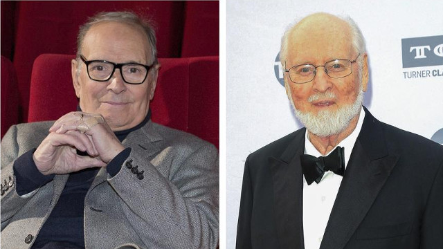 Ennio Morricone y John Williams. EFE